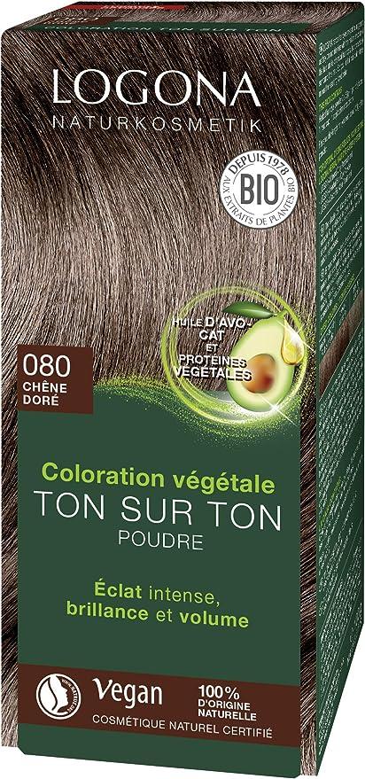 Logona Colorante vegetal castaño dorado 080 100gr. 1 Unidad 100 g