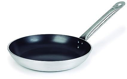 Lacor 21628 - Sartén Chef Tricapa Aluminio Antiadherente, 28 cm