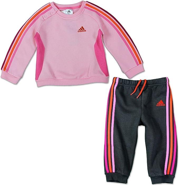 adidas Survêtement Baby Jogging 3 Stripes, Mixte Enfants