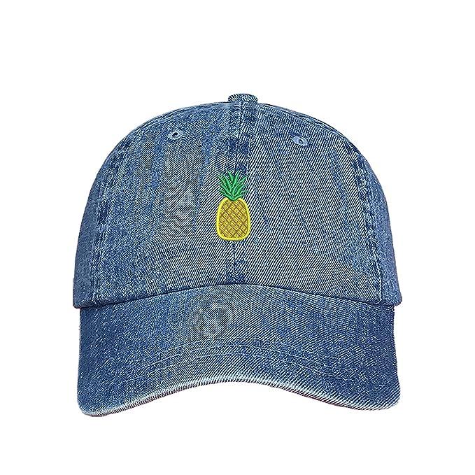 Prfcto Lifestyle Pineapple Dad Hat - Black Baseball Hat - Unisex at Amazon  Men s Clothing store  da0527d6ca1c