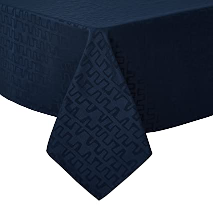 Deconovo Decorative Jacquard Tablecloth Wrinkle And Water Resistant  Spill Proof Rectangle Tablecloths Bar Graph Print