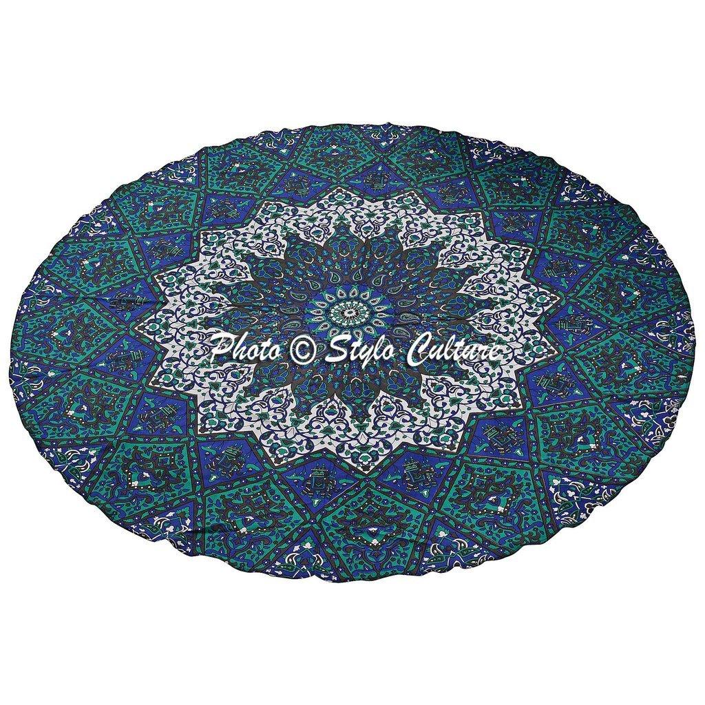 Amazon.com: Stylo Cultura India Étnico Manta Roundie Mandala ...
