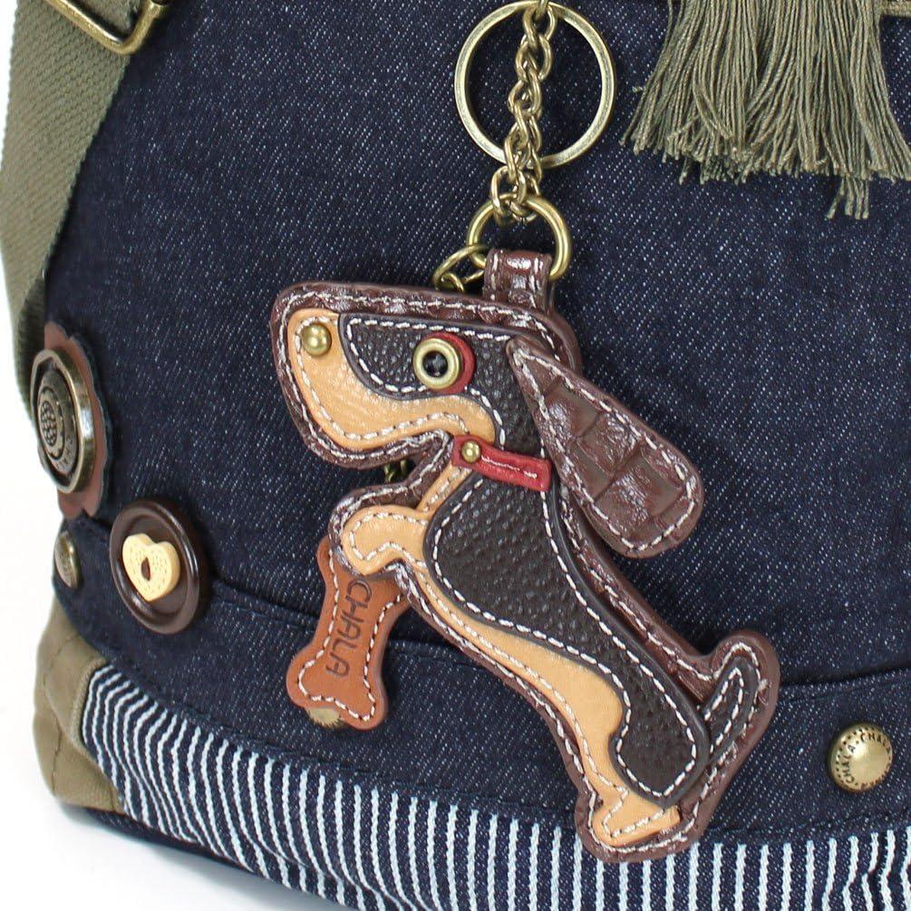Chala Patch Crossbody Messenger Handbag