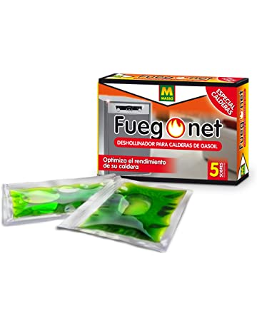 FUEGO NET Fuegonet 231286 Deshollinador Calderas de Gas-Oil, Verde, 9.6999999999999993x3x6.