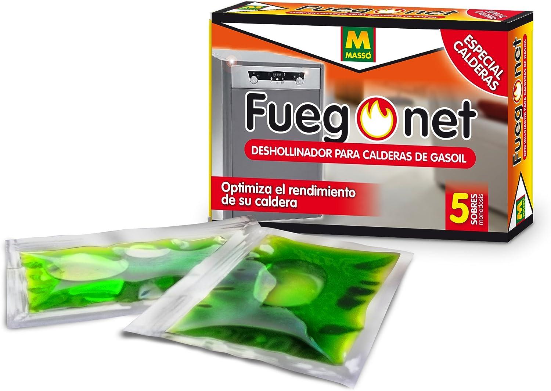 FUEGO NET Fuegonet 231286 Deshollinador Calderas de Gas-Oil, Verde, 9.6999999999999993x3x6.5 cm
