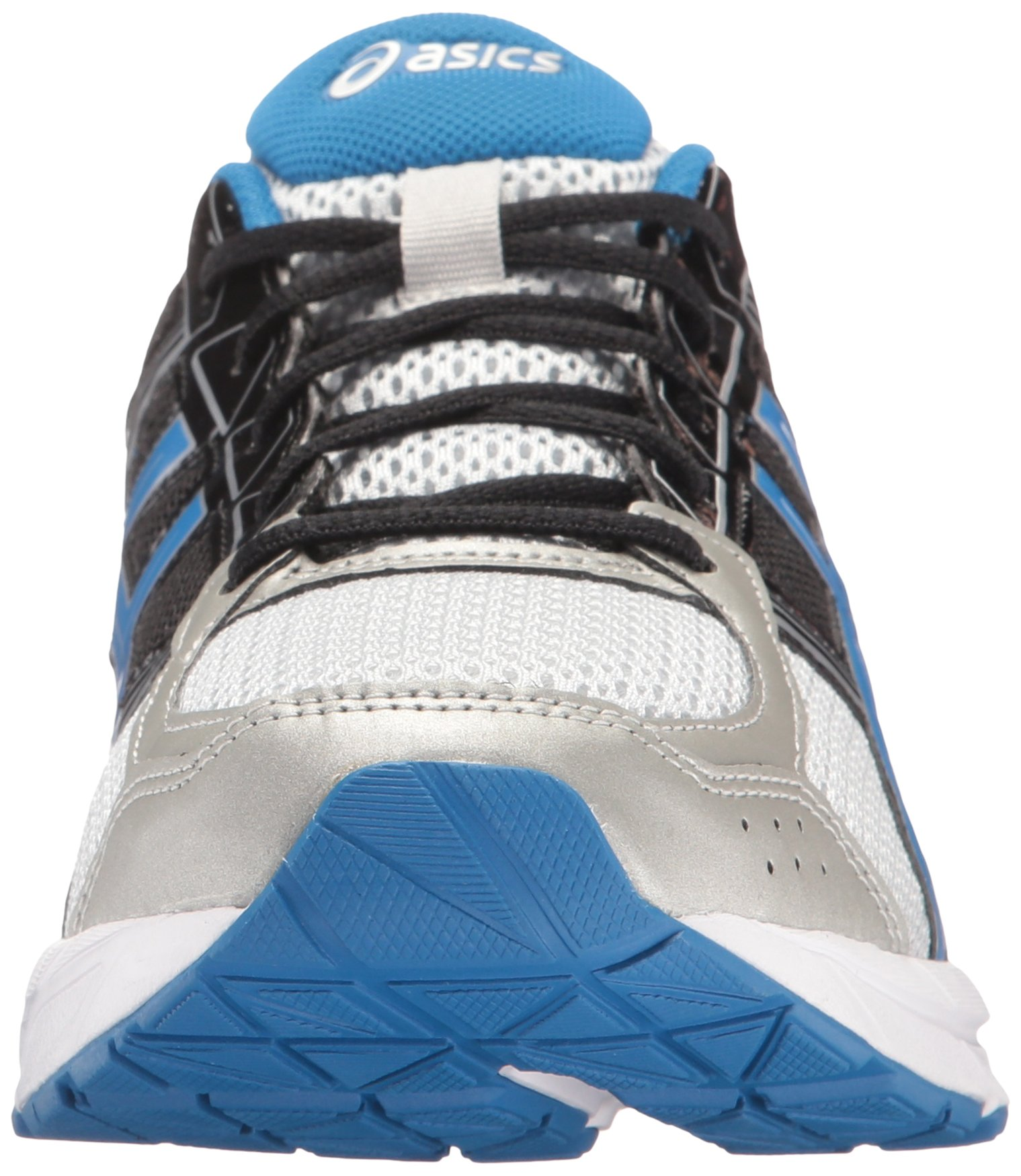 ASICS Men's Gel-Contend 4 Running Shoe, Silver/Classic Blue/Black, 7.5 M US by ASICS (Image #4)