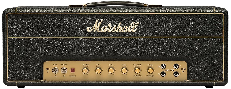 Marshall JTM45 2245 - Amplificador de audio (2.0, 66,5 cm, 20,5 cm, 26,5 cm) Negro, Oro: Amazon.es: Electrónica