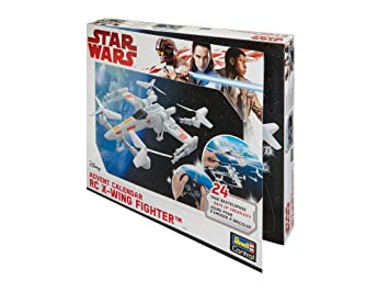 Weihnachtskalender Revell.Revell 01013 Star Wars Rc Advent Calendar 17 Multi Color Amazon Co