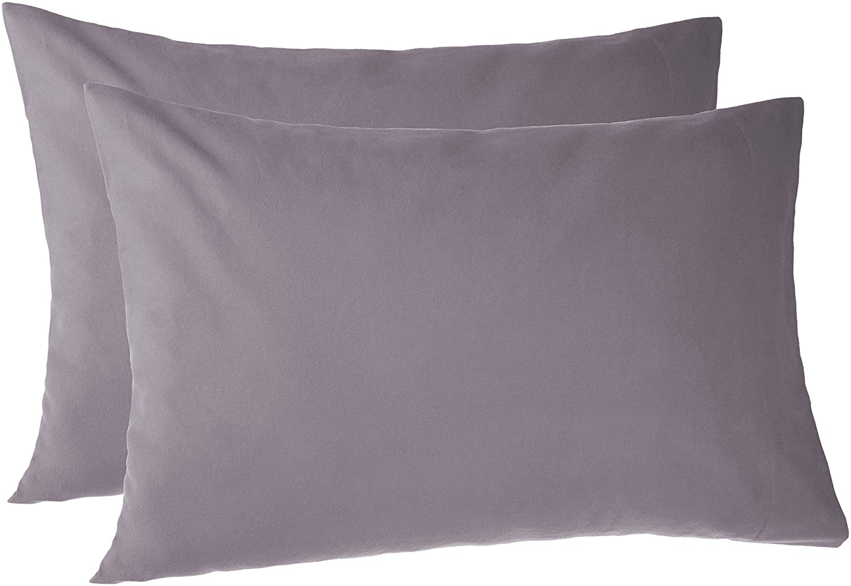 Pinzon 170 Gram Flannel Pillowcases - Standard, Graphite PZ-FLAN-GR-SPC