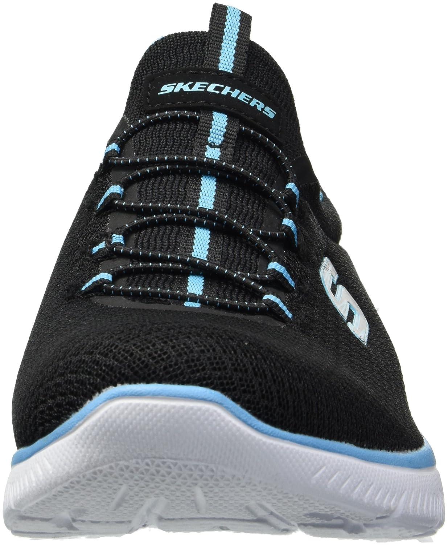 Skechers Sport Sport Sport Woherren Summits Turnschuhe,schwarz Turquoise,9.5 M US 3bb405