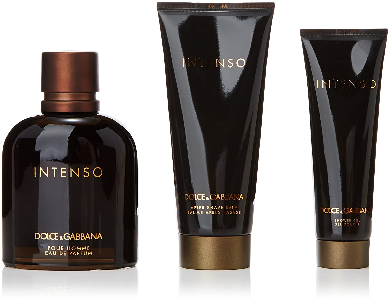 Dolce And Gabbana Intenso Eau De Perfume Spray 125ml Set 3 Pieces   Amazon.co.uk  Health   Personal Care 99cca9a574d2