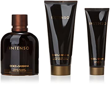 Image Unavailable. Image not available for. Colour  Dolce And Gabbana  Intenso Eau De Perfume Spray 125ml Set ... d13e26e29e55