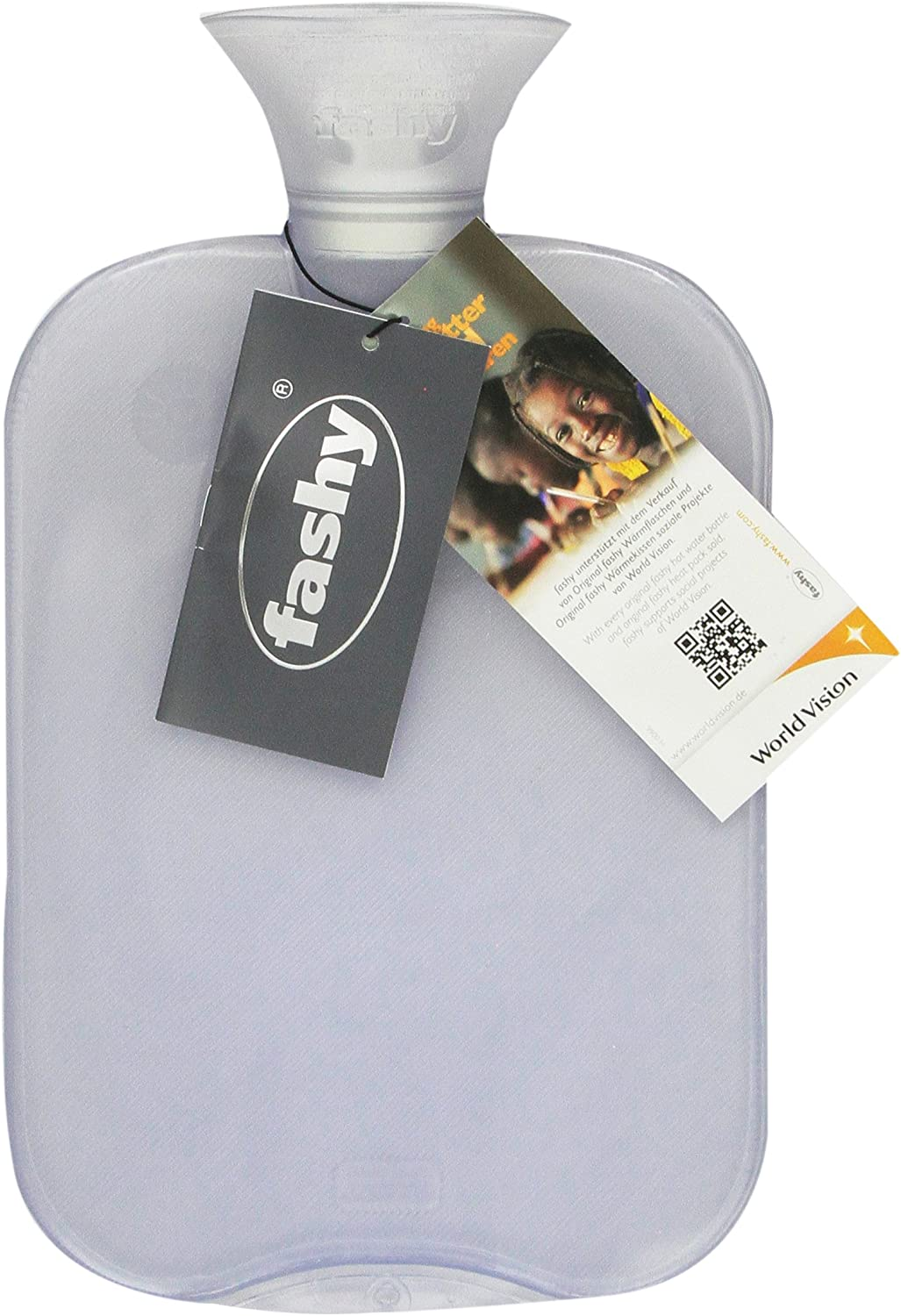 Transparent Classic Hot Water Bottle - Made in Germany: Health & Personal Care