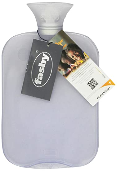16833a3756 Image Unavailable. Image not available for. Color: Transparent Classic Hot  Water Bottle - Made in Germany