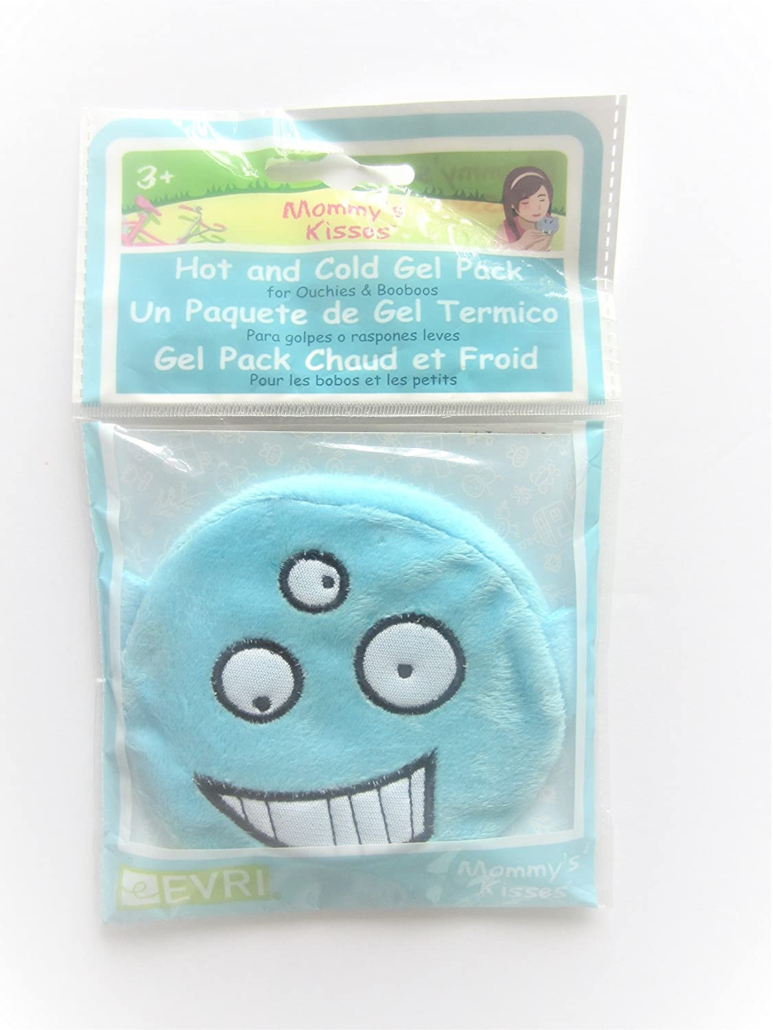 Amazon.com : Mommys Kisses Spa Comforts, Reusable Childrens Hot and Cold Pack - Blue Monster : Sports & Outdoors
