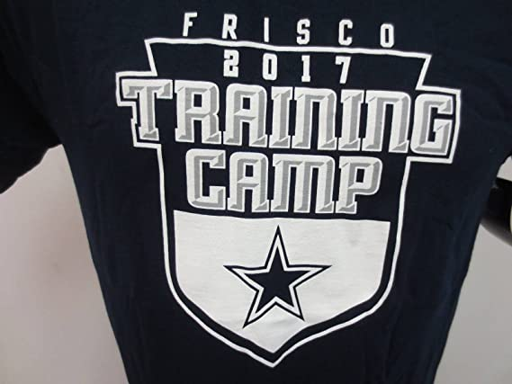 Dallas Cowboys Training Camp 2017 Frisco Blue Tee Shirt Mens XL - NEW WITH TAGS  at Amazon s Sports Collectibles Store c8081e1fd