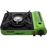 Whip-it! SV-STOVE-09 Hot Spot Butane Stove, Green