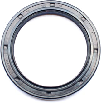 Oil Seal 45X60X7 Single Metal Case w//Viton Rubber Coating Viton Oil Seal Grease Seal TC |EAI Double Lip w//Garter Spring 1.772x2.362x0.276 45mmx60mmx7mm 2 PCS