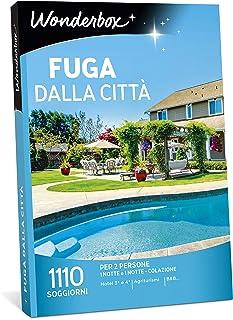 WONDERBOX Cofanetto Regalo - Fuga dalla Città - 1110 SOGGIORNI per 2 Persone