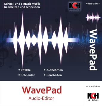 musik bearbeitungs programm wavepad