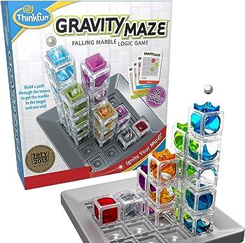 ThinkFun Marble Drop LogicGravity Maze Game