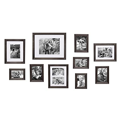 Amazon Kate And Laurel Bordeaux Gallery Wall Kit Set Of 10