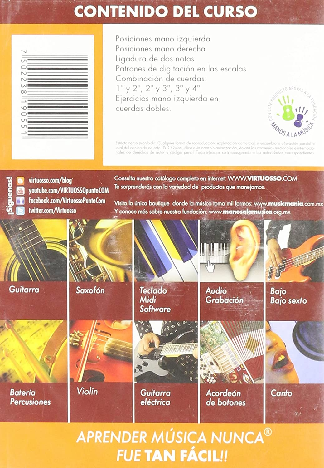 Amazon.com: Virtuosso Violin Method Vol.2 (Curso De Violín Vol.2) SPANISH ONLY: Musical Instruments
