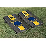 Hardwood Classics (Basketball) Golden State Warriors '66-'67 Onyx Stained Stripe Version Cornhole Set