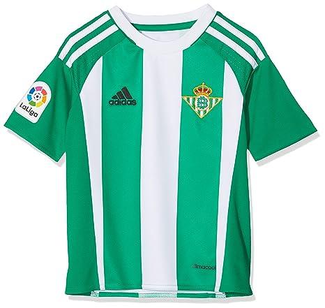 adidas 1ª Equipación Betis FC Camiseta, Hombre, Verde, 128