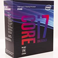 Intel Core i7-8700K Desktop Processor 6 Cores up to 3.7GHz Turbo Unlocked LGA1151 300 Series 95W