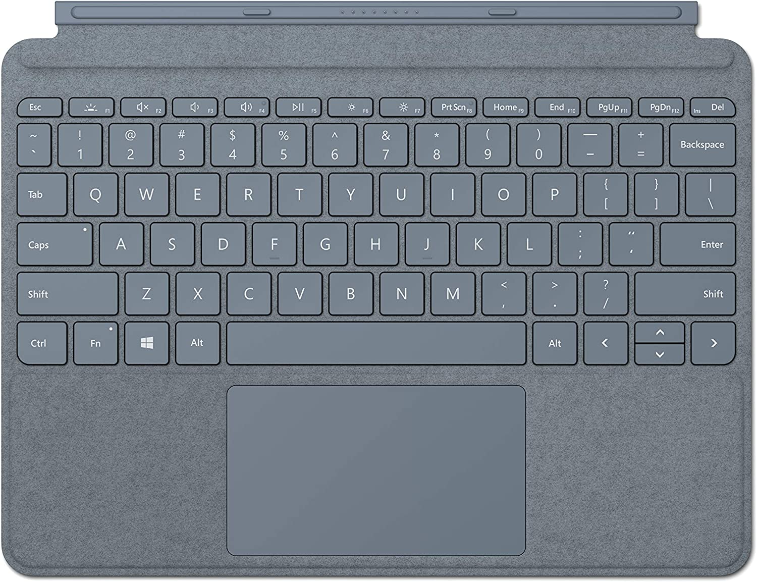 NEW Microsoft Surface Go Signature Type Cover - Ice Blue
