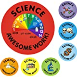 140 Science Awesome Work Reward Stickers