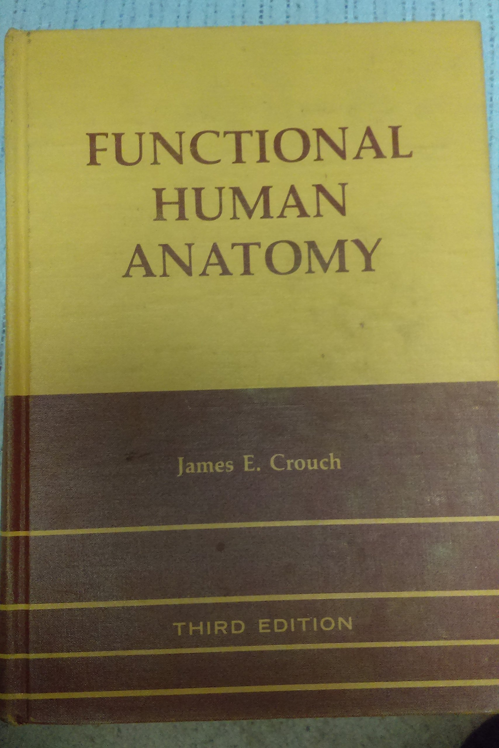 Functional Human Anatomy James Ensign Crouch 9780812105971 Amazon