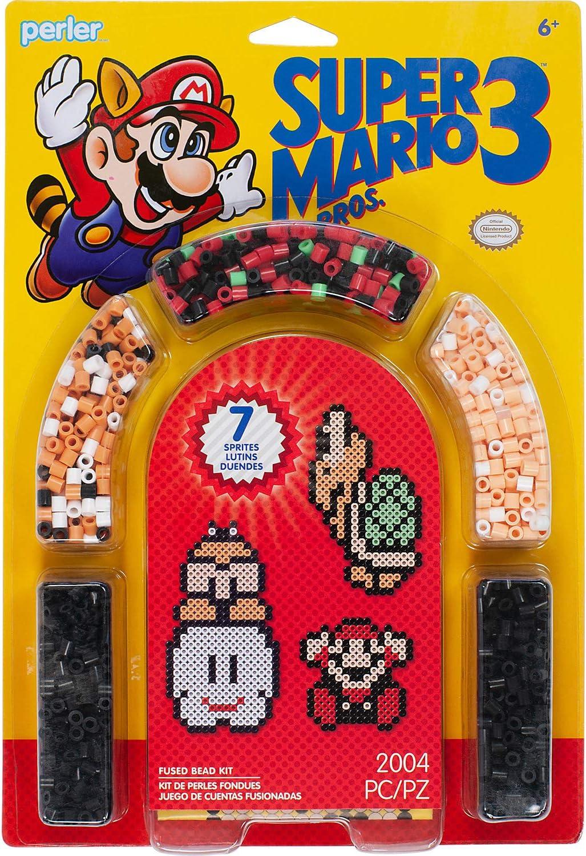 Perler Fuse Bead Activity Kit-Super Mario Brothers 3