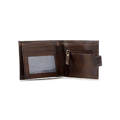 a92a258de83 Rjr.John Rocha Men Brown Leather Billfold Wallet: Amazon.co.uk: Clothing