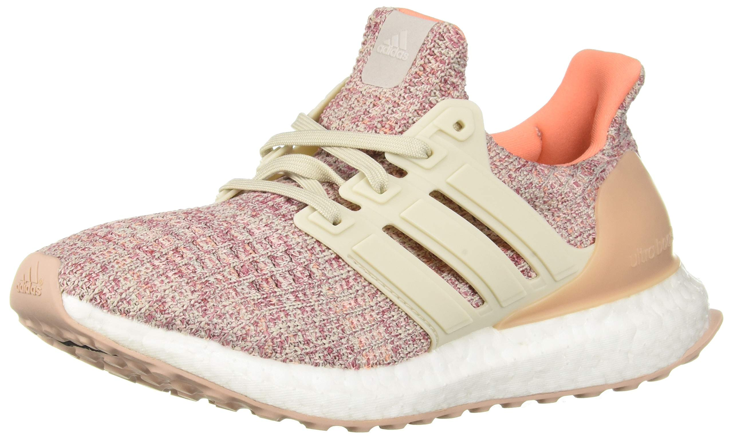 adidas Unisex Ultraboost, Trace Maroon/Clear Brown/Chalk Coral, 7 M US Big Kid by adidas