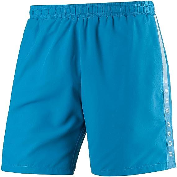 09518318671ad Hugo Boss Boss Men's Swimming Trunks Sea Ream, Turquoise-Aqua: Amazon.co.uk:  Sports & Outdoors