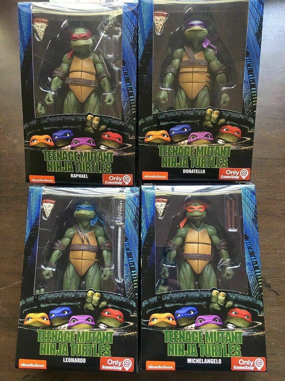 Amazon.com: NECA Teenage Mutant Ninja Turtles (película de ...