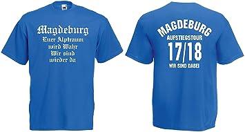 Magdeburg Aufstiegs Tour T Shirt Von S Xxxl Aufsteiger 201718