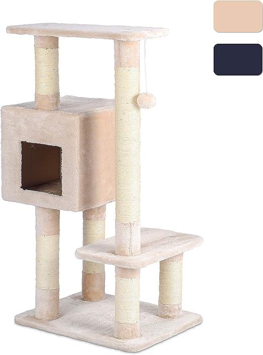 Ribelli XL Árbol para Gatos con Varios Niveles y Cuevas para Gatos ...
