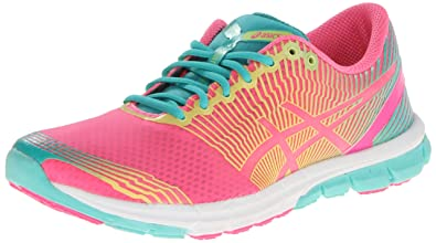 ASICS Women's Gel-Lyte33-3 Running Shoe,Flash Pink/Lime/Green