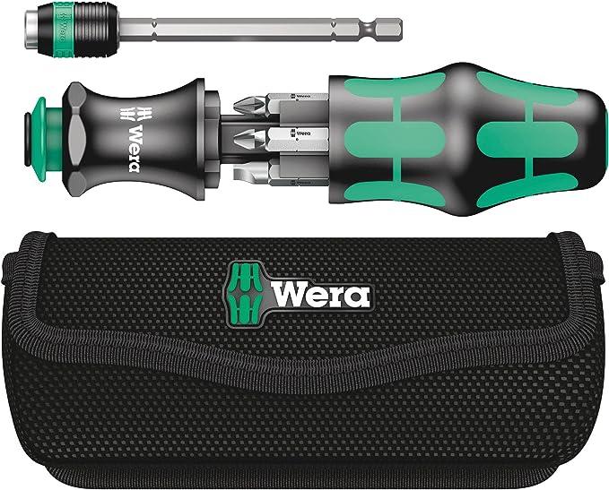 Wera - Kraftform Kompakt 20 con bolsa, 7 piezas: Amazon.es: Bricolaje y herramientas