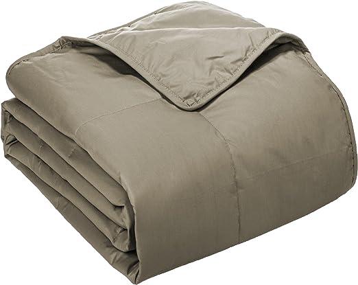 Cottonloft Manta de Relleno de algodón, algodón, Beige, Matrimonio: Amazon.es: Hogar