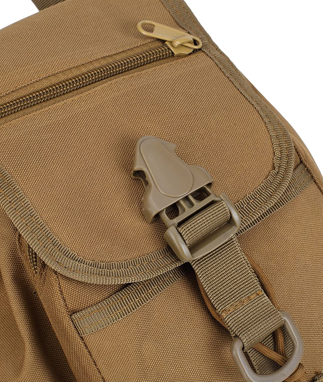 Amazon.com: Mochila Small Tactical Backpack for Boys and Girls Mini Backpack Travel lightweight Daypack Casual Classic Backpack School Rucksack 10L (khaki): ...