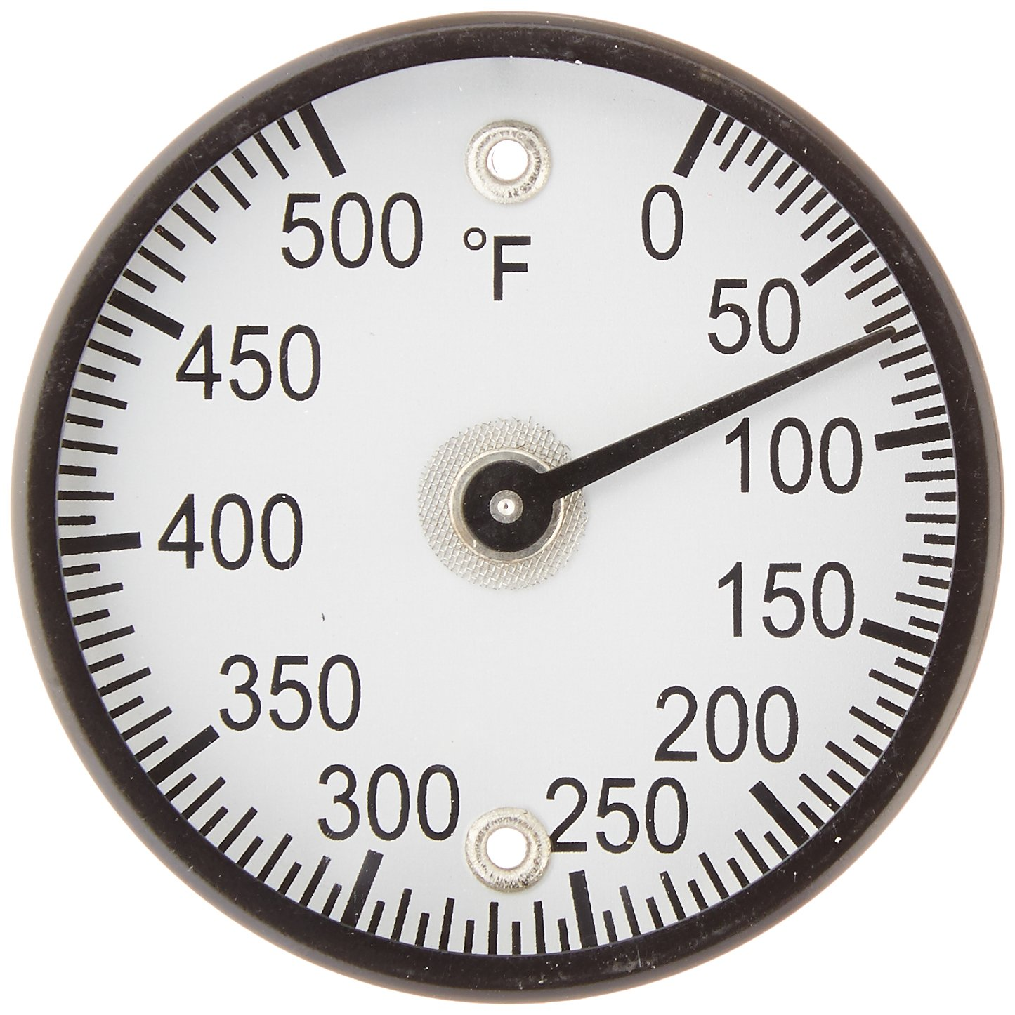 PIC Gauge B2MS-Q 2'' Dial Size, 50/500°F, Surface Mount, Magnetic Connection, Black Steel Case Surface Mount Thermometer by PIC Gauges
