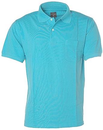 Kitaro Herren Poloshirt Polo T-Shirt Pikee Türkis L  Amazon.de  Bekleidung 4227c31095