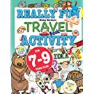 Really Fun Travel Activity Book For 7-9 Year Olds: Fun & educational activity book for seven to nine year old children