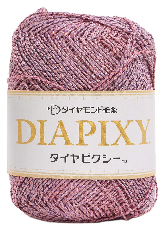 ダイヤ毛糸 ダイヤピクシー 毛糸 合太 Col.9302 ピンク 系 30g 約114m 10玉セット PIX B07PSQRXHR