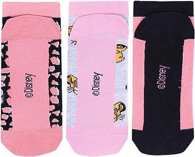 El Rey León Forro para Zapato Mujer Calcetines Paquete de 3 Tamaño de Reino Unido 4-8 Primark: Amazon.es: Ropa y accesorios