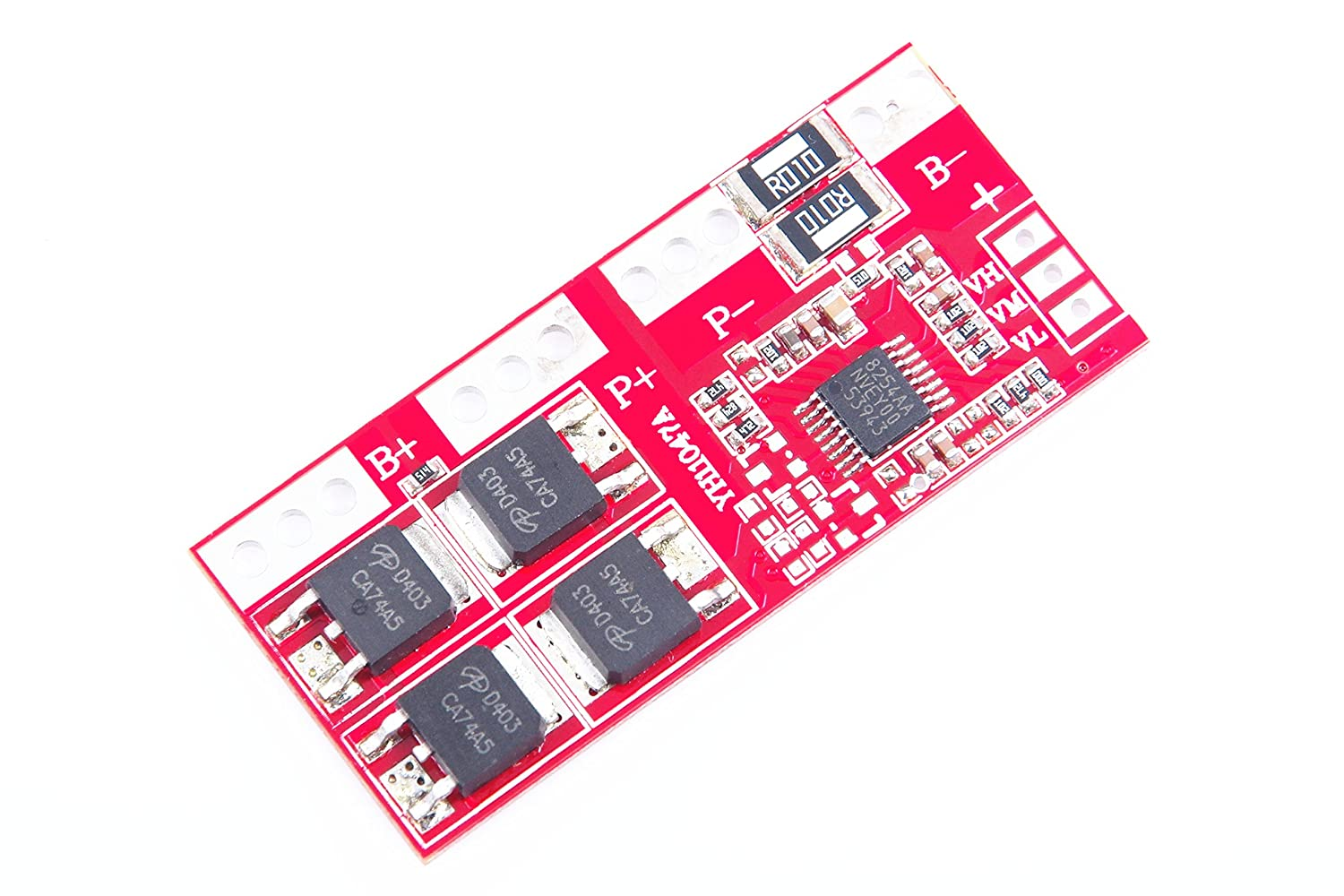 KNACRO 3S Li-ion Lithium Battery Charger Protection Board 10.8//11.1V//12.6V 30A Overcharge//Over-discharge//Overcurrent//Short-circuit Protection Circuit Board Automatic Activation